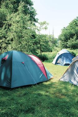 Zeltwiese Camping am Deich