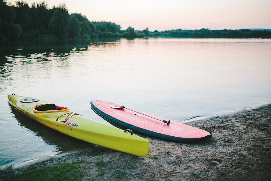 Stand Up Paddling Stemmer See