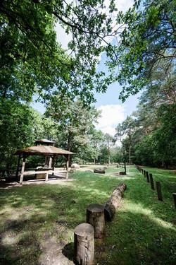 Campingpark Südheide, Wanderweg, Ausflug, Wanden, W17, Grillhütte