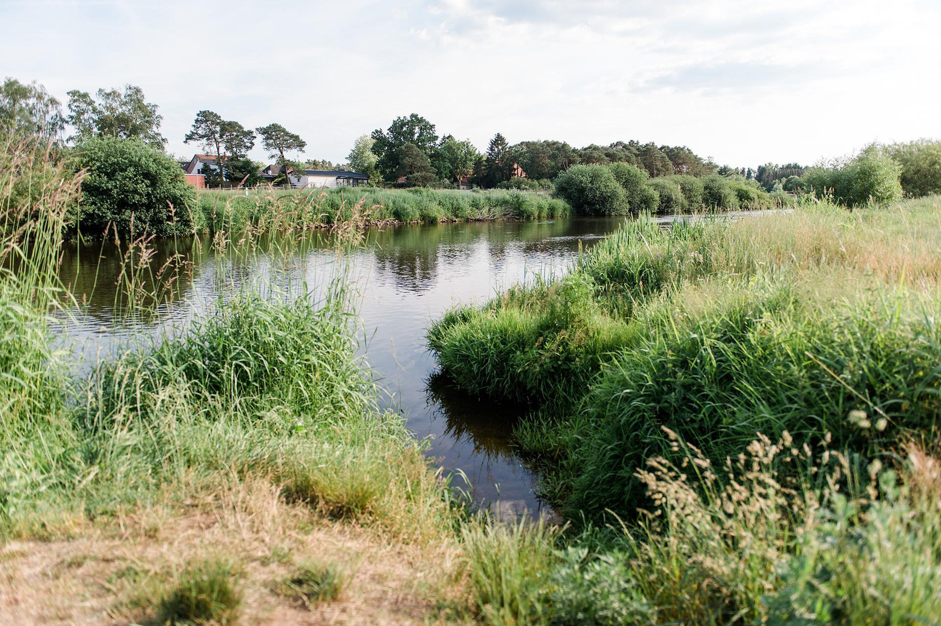 Campingpark Südheide, Ausflüge, Radtour, Winsen Aller, Fluß Aller