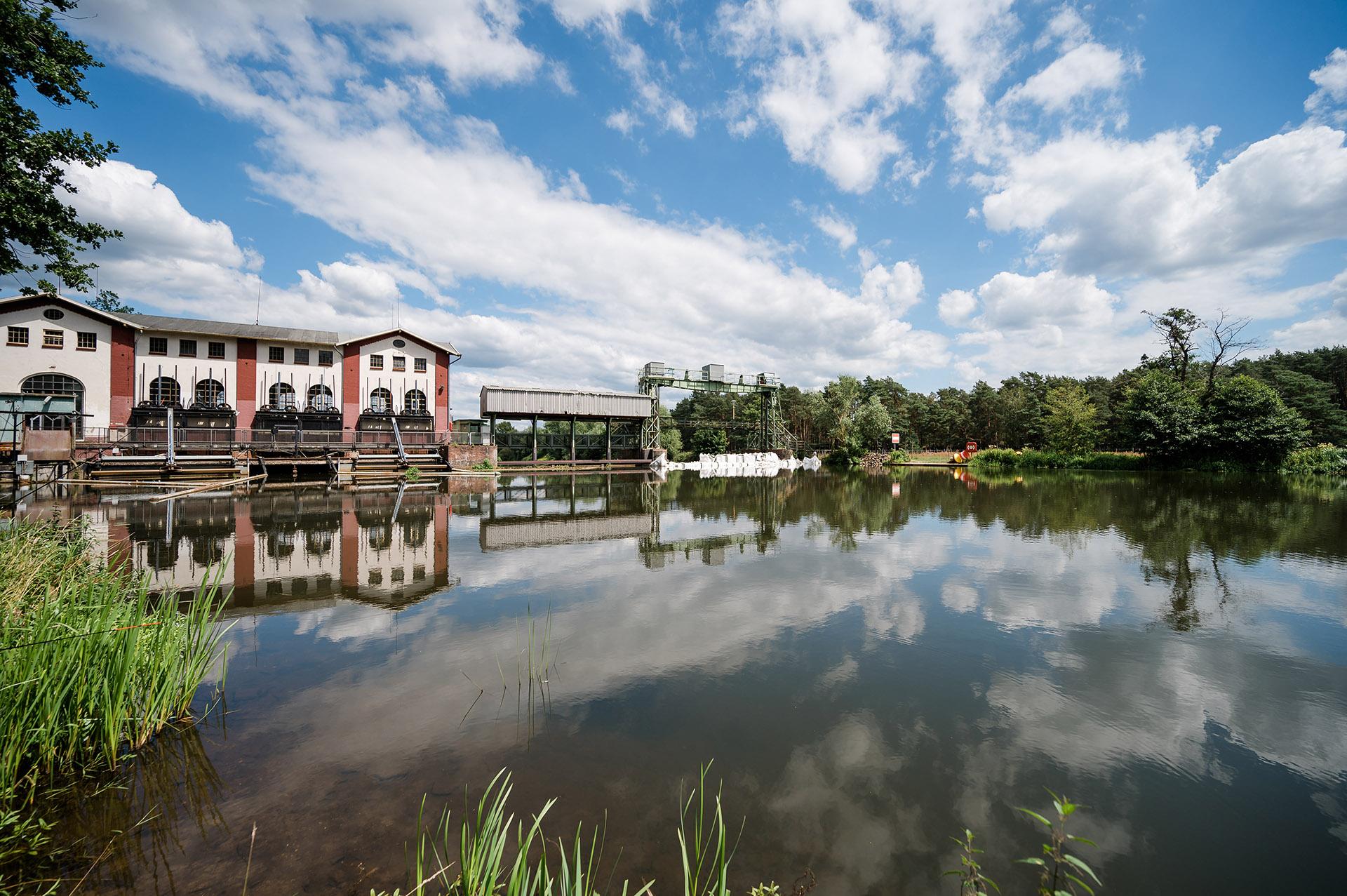 Campingpark Südheide, Ausflüge, Region, Oldauer Schleuse, Wasserkraftwerk Oldau