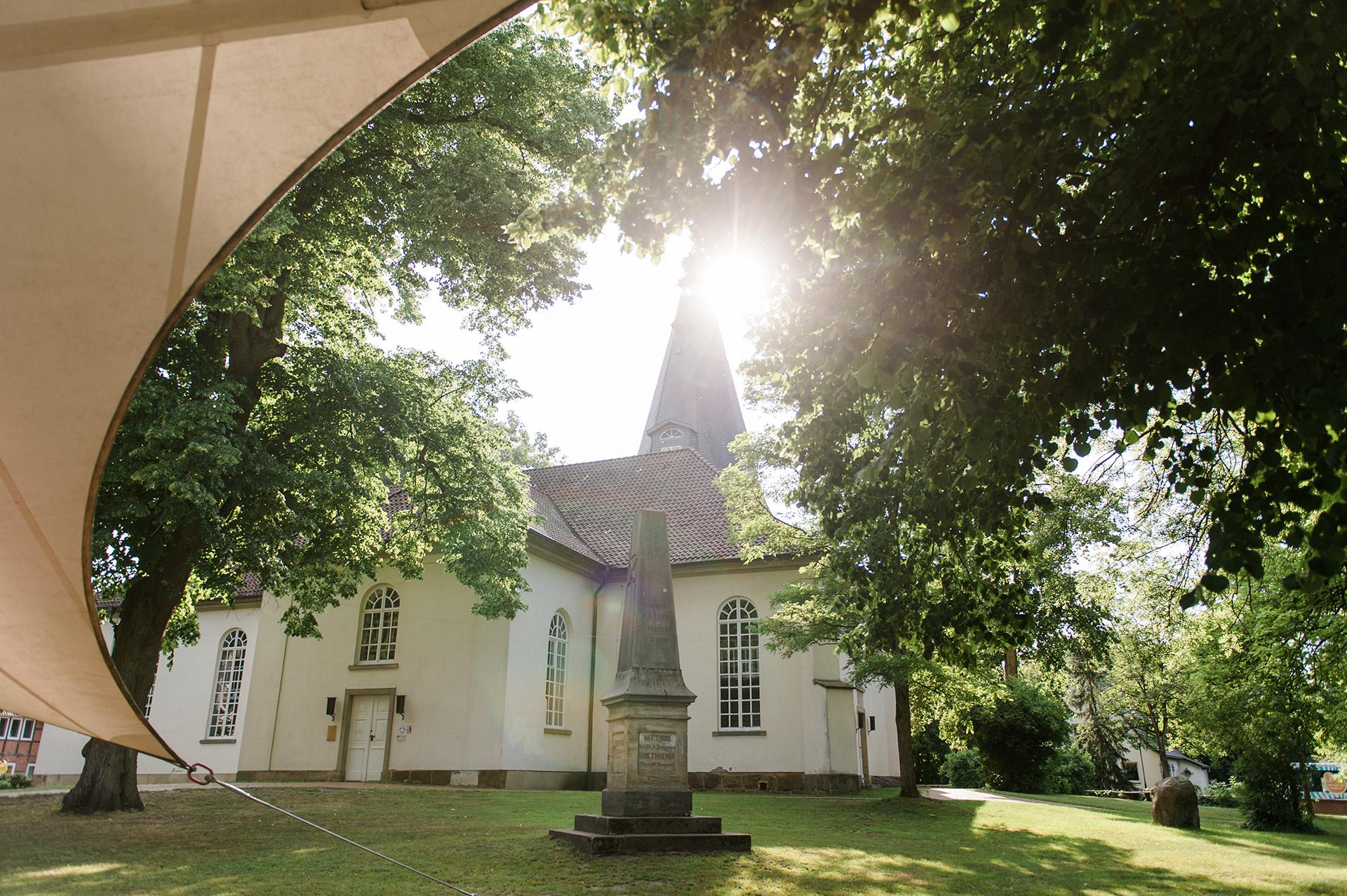 Campingpark Südheide, Ausflüge, Radtour, Winsen Aller, Kirche