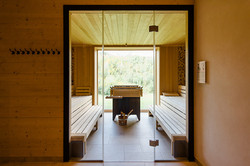 Sauna, Multifunktionsgebäude