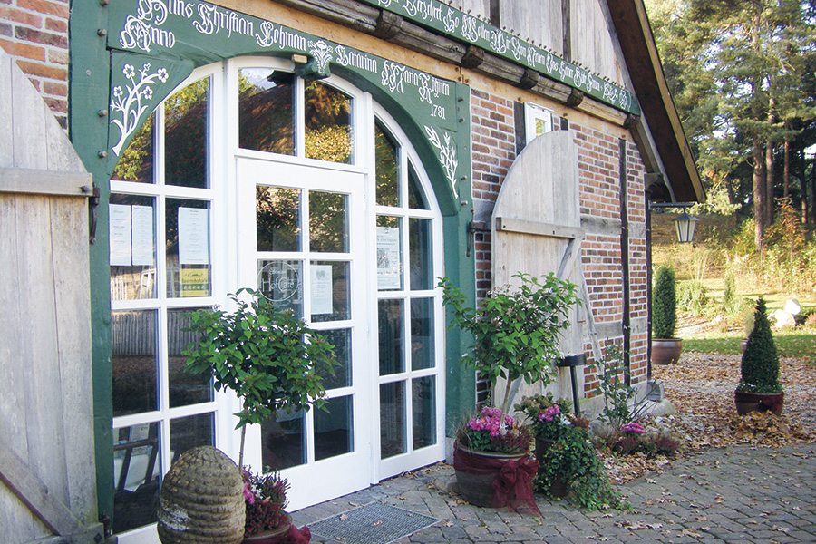 Winsen (Aller), Museumshof, Kallandstube, Cafe