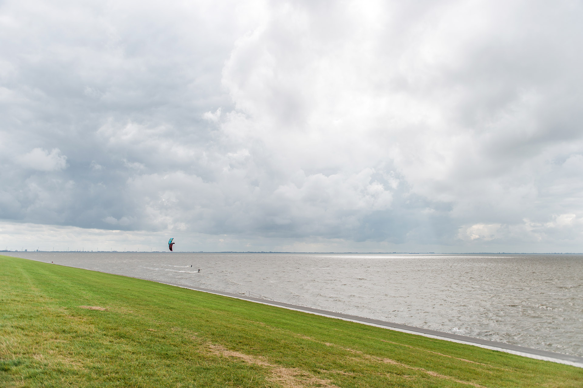 Camping am Deich, Nordsee, Meer