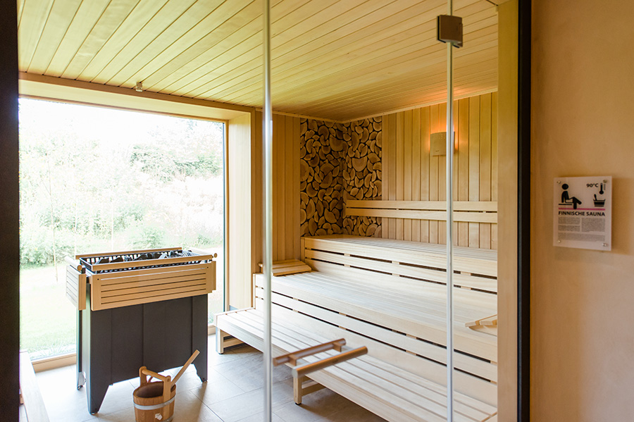 Wellness-Oase, Sauna