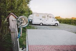 Wohnmobil Stellplatz beim Nordseecamping zum Seehund