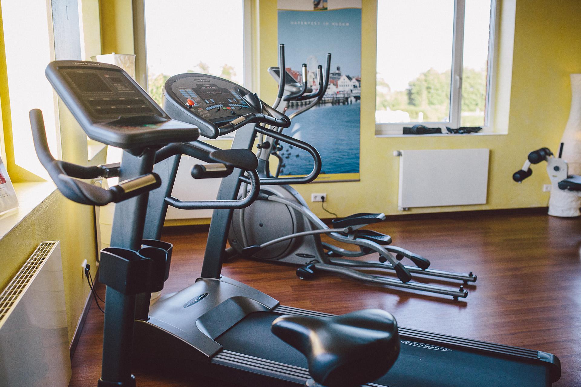 Fitnessraum, Fitness, Wellness, Komfort, Urlaub, Nordsee