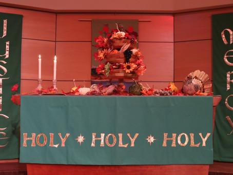 Abundant Life: Giving and Thanksgiving