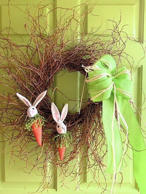 Curly Willow Wreaths