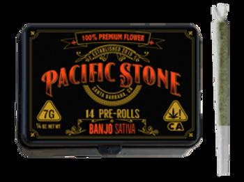 Pacific Stone   Banjo Sativa Pre-Rolls 14pk (7g)