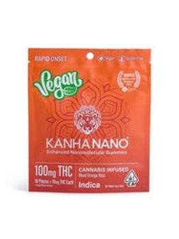 Kanha NANO Vegan Blood Orange Bliss Indica 100mg