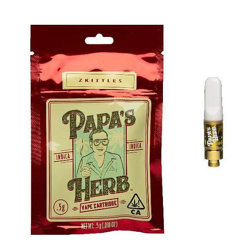 Papa's Herb Vape Cartridge - Zittles (.5g)