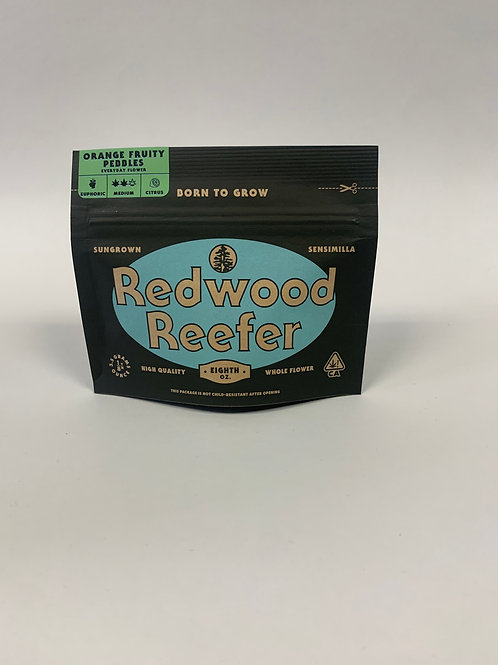 Redwood Reefer- Orange Fruity Pebbles