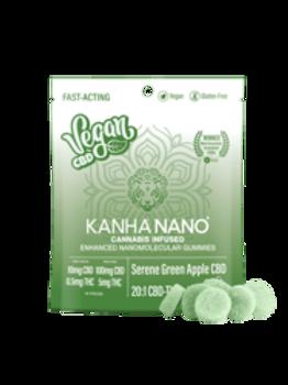 Kanha NANO Vegan 20:1 Serene Green Apple CBD