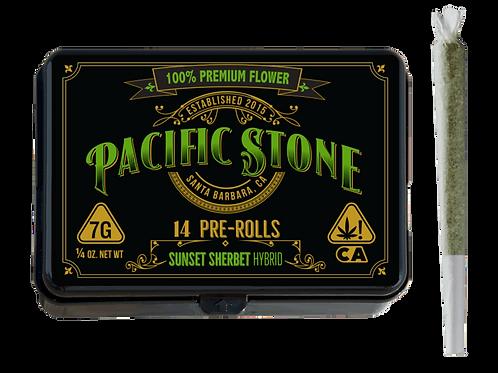 Pacific Stone | Sunset Sherbet Pre-Rolls 14pk (7g)