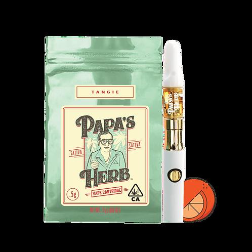 Papa's Herb Vape Cartridge - Tangie (.5g)