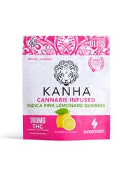 Kanha Indica Pink Lemonade Gummies