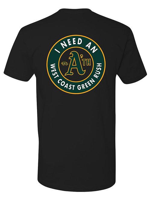 I need an A'th - Oakland Fan Tee