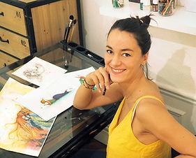 Océane NICAISE-BEUROIS, illustratrice et auteure