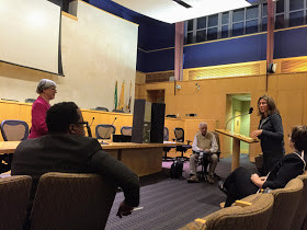 Supporters of Veblen House Initiative Turn Out for Public Hearing