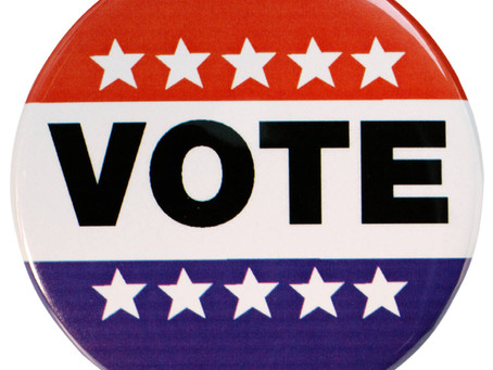 TUESDAY, JUNE 4th - ELECTION DAY