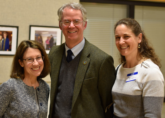 Mia with Freeholder Andrew Koontz and Laurie Harmon