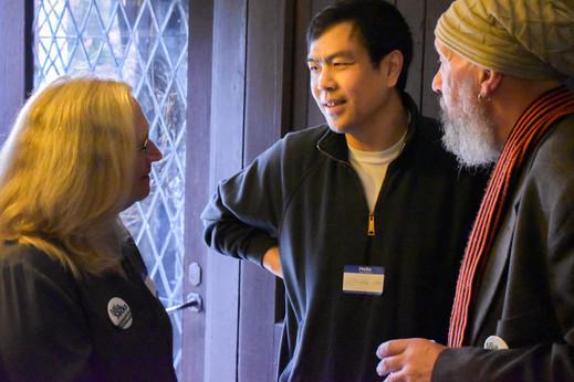 Kathy & Layton with Li Ping An