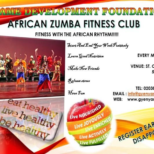 AFRICAN ZUMBA HEALTH CLASS