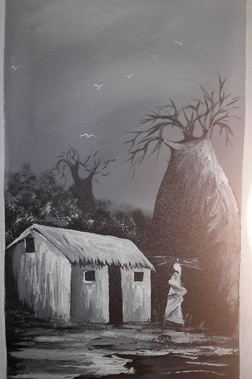 My House– Original Canvas Painting
