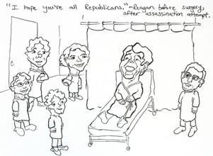 Comedian Ronald Reagan