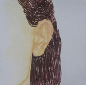 My Ear (self-portrait)