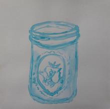 Pretty Mason Jar