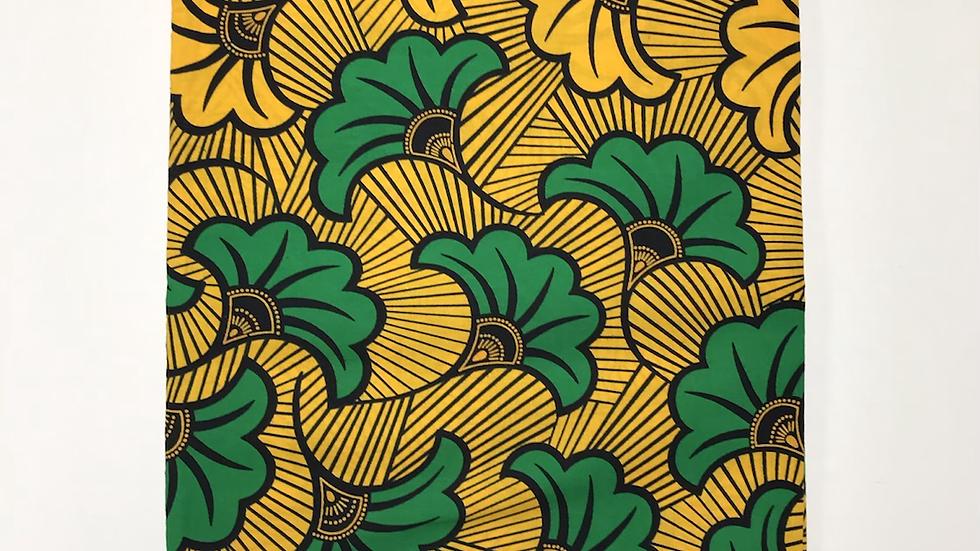 Wax fleurs de mariage jaune et vert
