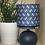 Thumbnail: Petite lampe avec abat jour en tissu wax