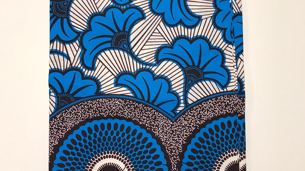 Wax fleurs de mariage bleu