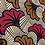 Thumbnail: Wax fleurs de mariage marron et rouge