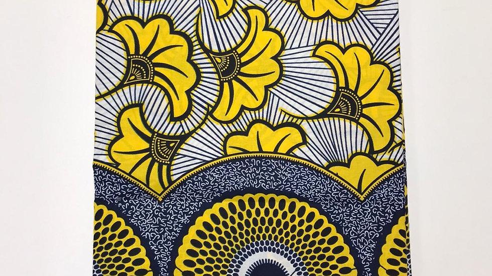 Wax fleurs de mariage jaune