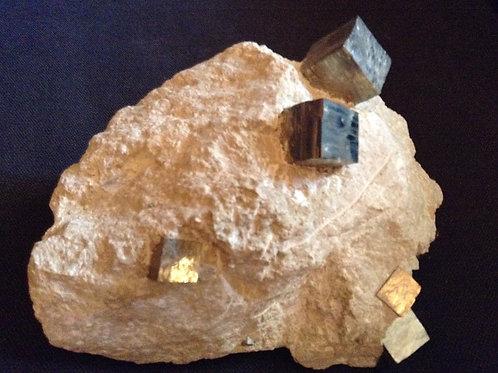 Pyrites en cube Espagne