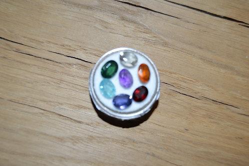 Boite de pierres gemmes 7 chakras
