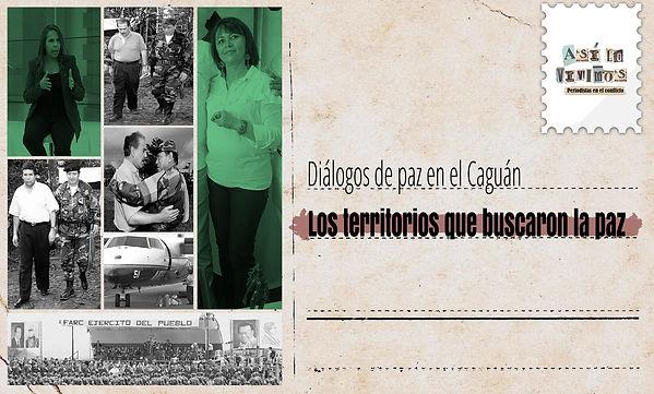 Diálogos de paz en el Caguán