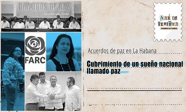 Acuerdos de paz en La Habana