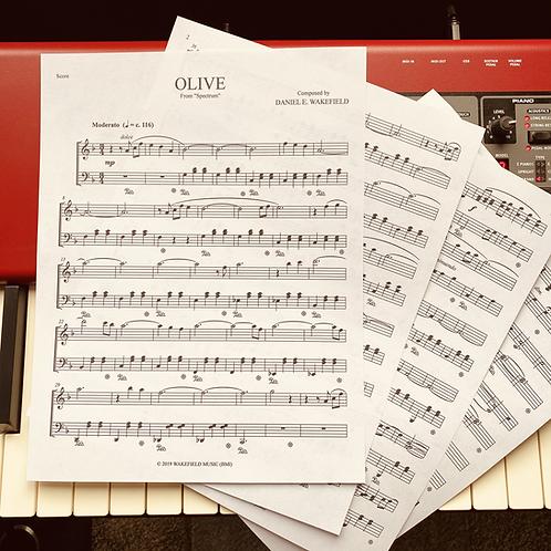 OLIVE Sheet Music