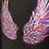 Thumbnail: Rainbow Angel Wings - T-Shirt or Lightweight Sweatshirt