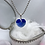 Thumbnail: Blue Hearted Necklace