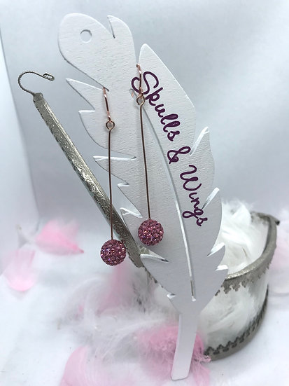 Glitzy Ball Earrings