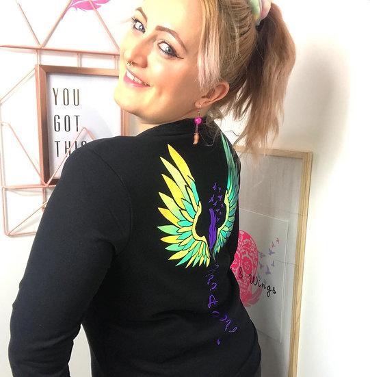 Free Spirit Wings- T-Shirt or Sweatshirt