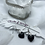 Thumbnail: Dark Heart Earrings