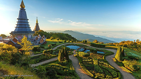 Mountains & Temples-Chiangmai-Thailand 5 Nights getaway!