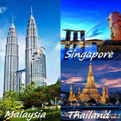 Magical Asia: Malaysia+Singapore+Thailand- 7 Nights